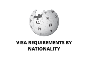Visa Requirements by Nationality